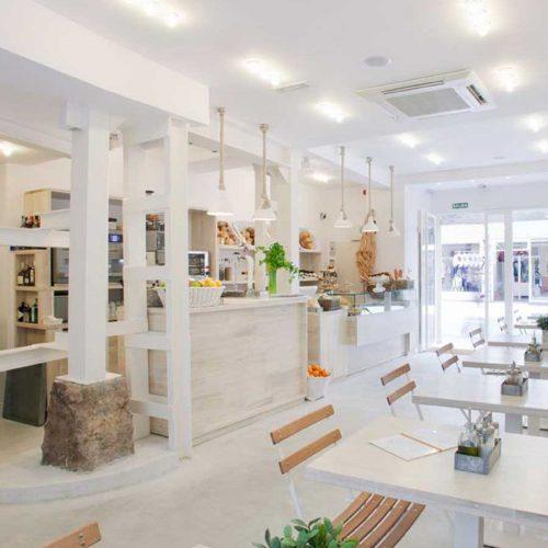 Cafetería Harina en Augusto Figueroa