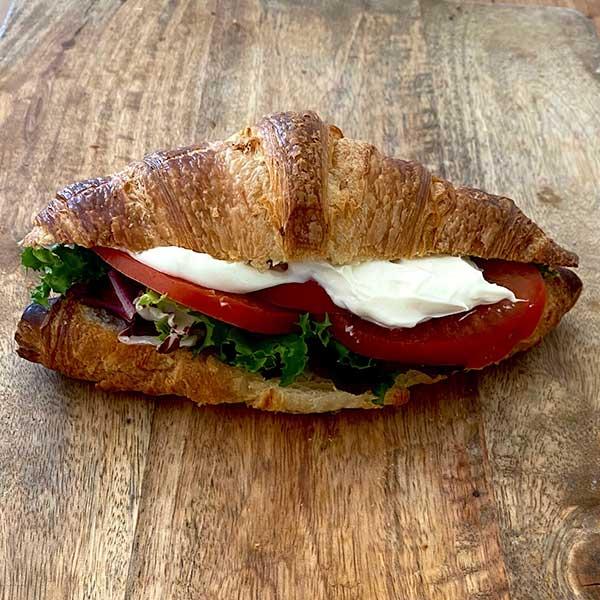Croissant francés vegetal de Harina