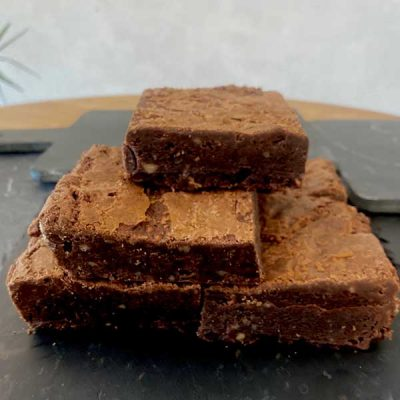 Brownie de chocolate Harina