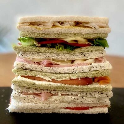 Surtido mini sándwiches de Harina